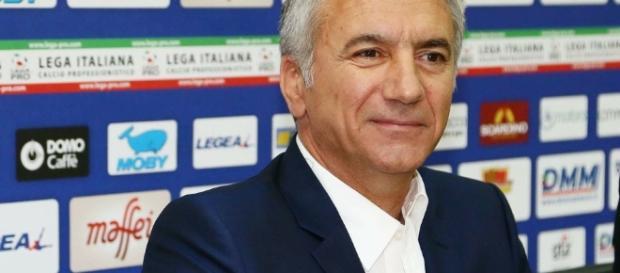Il direttore sportivo del Lecce, Meluso.