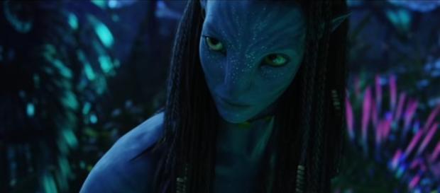 Screenshot do primeiro filme da série Avatar. Fonte: Youtube