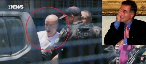 Televisão mostrou imagem de ex-ricaço sem cabelos