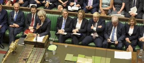 Theresa May's first PMQs as Prime Minister | Photograph © UK… | Flickr - flickr.com