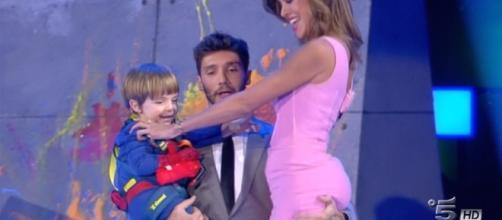 Belen Rodriguez e Stefano De Martino, in un'immagine di repertorio