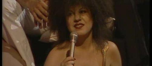 La presentadora fallecida Paloma Chamorro presentando el programa que le convirtió en un mito.