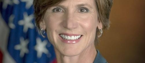 Sally Yates, photo courtesy US DoJ,. public domain