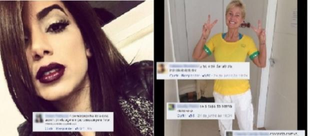 Anitta posta uma foto em sua rede social e acaba sendo criticada por causa de sua sobrancelha.