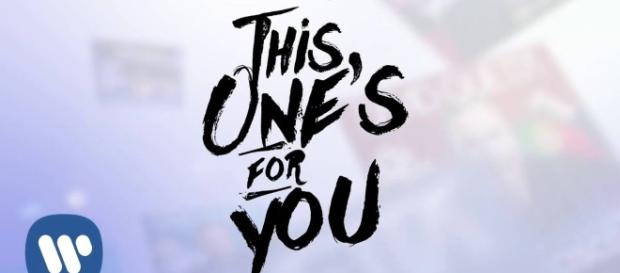 "Ariana Grande feat David Guetta finisce online ""This One's For You"""