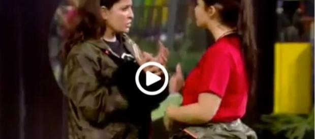 GHVIP: ¡El vídeo de la supuesta agresión de Elettra a Aída!