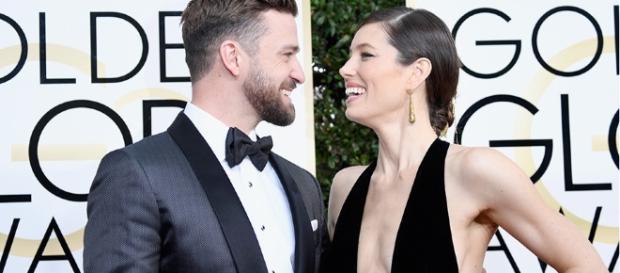 Justin Timberlake durante i Golden Globe