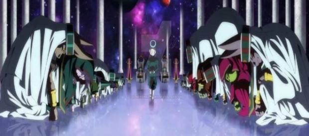 La reunión de los 12 dioses destructores
