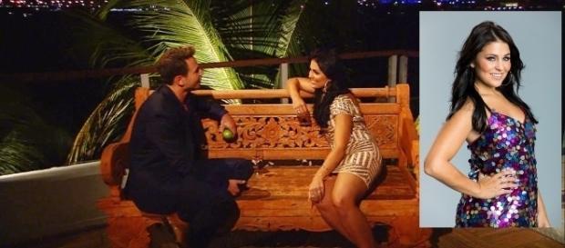 Sebastian Pannek flirtet mit Julia Anna Friess, doch die sei vergeben / Fotos: RTL; RTL, Marie Schmidt
