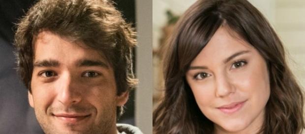 Tiago e Marina em 'A Lei do Amor' (Divulgação/Globo)