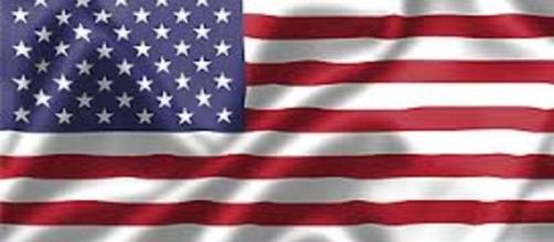 Flag of the United States of America image via public domain Flags