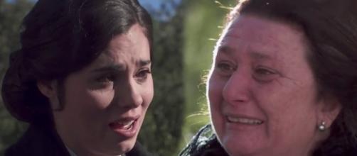 Il Segreto, anticipazioni: Maria lascia Puente Viejo con la pena nel cuore.
