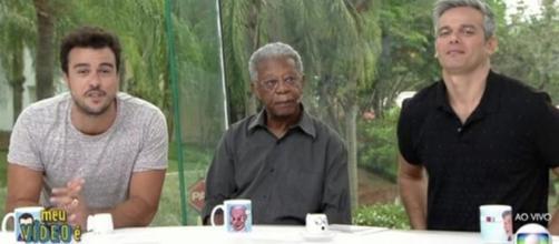"""Milton Gonçalves: ator causou climão no """"Vídeo Show"""""""
