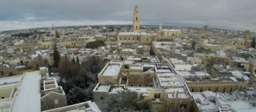 Per il 6 Gennaio 2017 allerta neve nel Salento