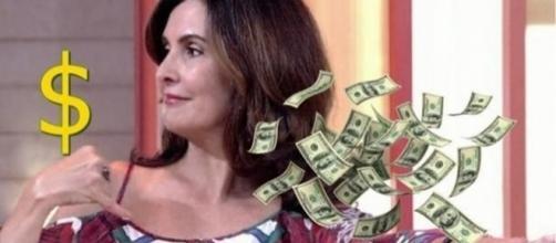 Um dos maiores salários da TV brasileira são os de Fausto Silva, Ratinho e Fátima Bernardes.
