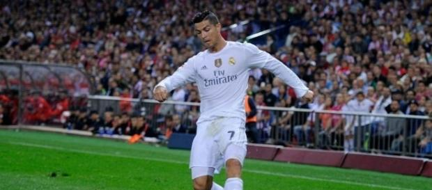 Cristiano Ronaldo, craque do Real Madrid da Espanha