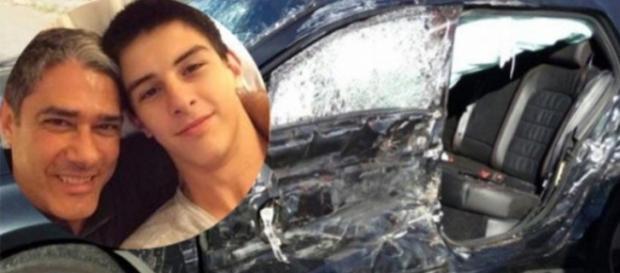 Eram 3 ocupantes do automóvel que sofreu acidente, um deles se encontra em estado grave