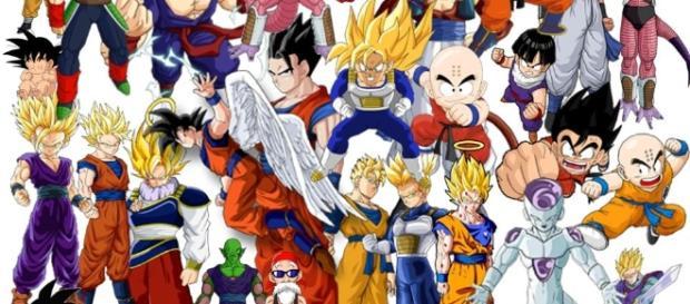 Los principales personajes de Dragon Ball