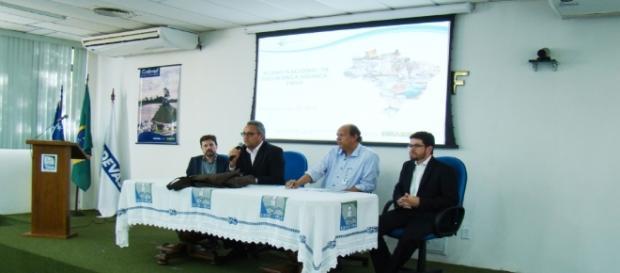 Plano Nacional de Segurança é discutido pelo Ministro da Justiça em audiência com o governo do Estado