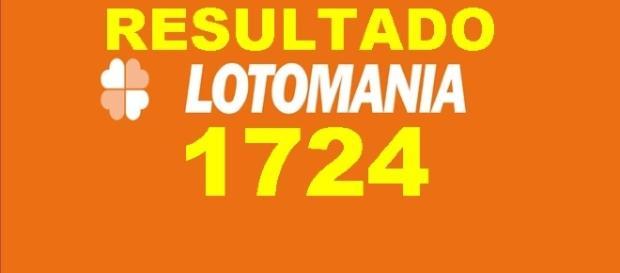 Resultado do jogo da Lotomania 1724