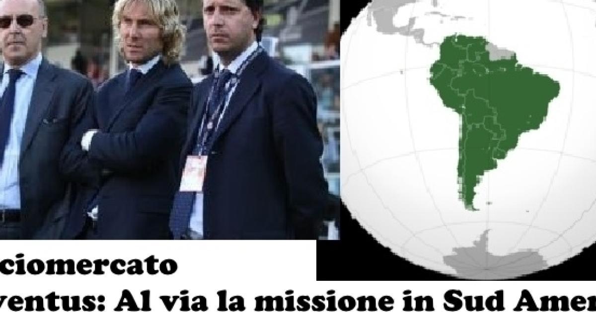 82eda05cccbe24 Calciomercato Juventus  al via la missione in Sud America