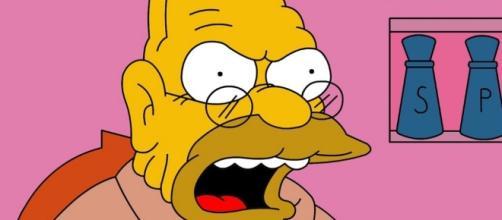 Conociendo al Abuelo Abe Simpson