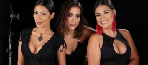 Fãs aguardam anciosos o lançamento do clipe 'Loka', com Simone, Simaria e Anitta.