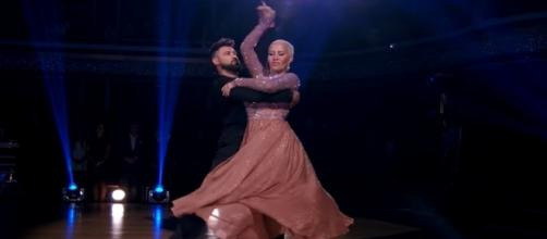 Model Amber Rose is dating Val Chmerkovskiy, who is the younger brother of her 'Dancing with the Stars' partner Maksim Chmerkovskiy. DWTS/YouTube