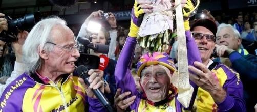 Robert Marchand, 105 anni, record del mondo