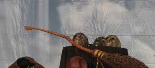 See genuine film props at A Celebration of Harry Potter. (Photo by Barb Nefer)