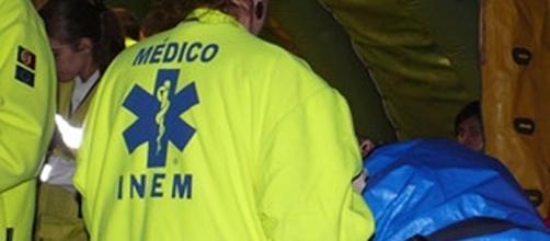 Vítima foi socorrida pelos operacionais do INEM mas não resistiu aos ferimentos