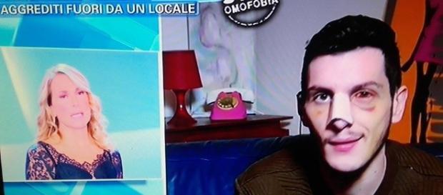 aggressione omofoba a Milano: barbara d'urso ne parla a Pomeriggio 5