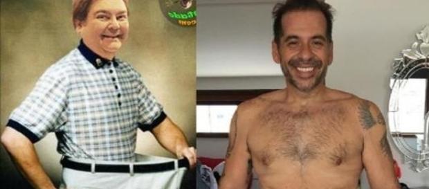 Alguns famosos que eram gordinhos, ficam bem estranhos ao perderem peso