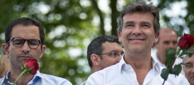 Arnaud Montebourg et Benoit Hamon