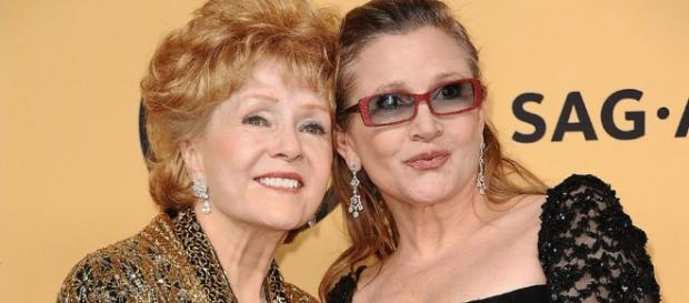 Carrie Fisher, Debbie Reynolds - Photo: Blasting News Library - hollywoodreporter.com