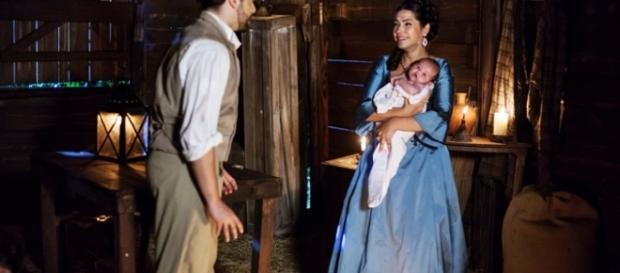 Em um ato de loucura, Maria Isabel vai tentar contra a vida da pequena Isaura