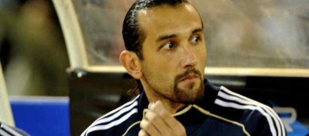 Hernán Barcos, novo jogador contratado pelo Santos.