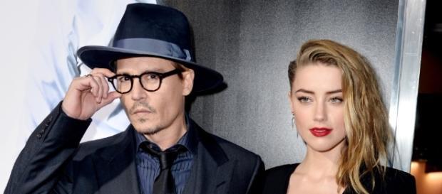Johnny Depp e Amber Heard iniciaram o processo de divórcio em 2016.