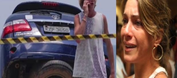 Letícia Spiller é mãe de acidentado no Rio - Google