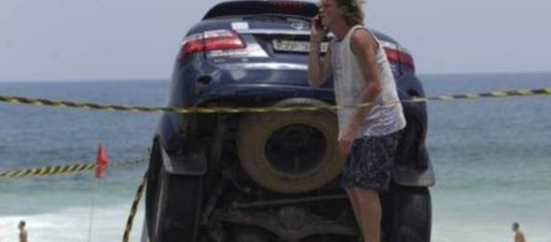 Marcelo Novaes contou que tomou um baita susto ao ser informado do acidente