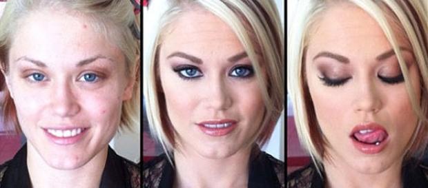 O poder da maquiagem é evidente nessas atrizes