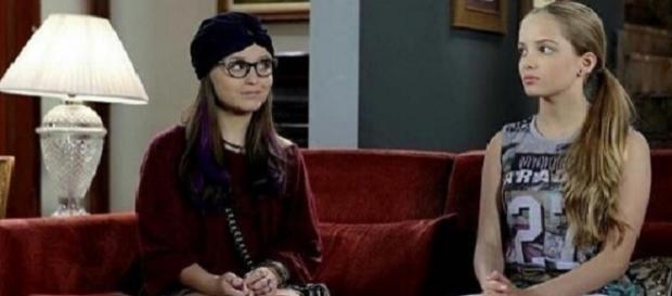 Rumores de desentendimentos entre as duas atrizes ocorre desde as gravações da novela do SBT