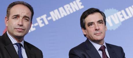 Francois Fillon et Francois Coppé UMP - CC BY