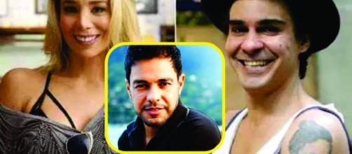 Danielle Winits e André Gonçalves discutiram com o jornalista Leo Dias nas redes sociais