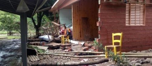 Estragos levaram prefeito a decretar situação de emergência | Foto: Alina Souza - Correio do Povo