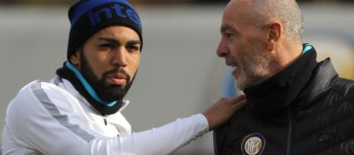 Inter, Pioli in campo parla subito con Gabigol - Corriere dello Sport - corrieredellosport.it