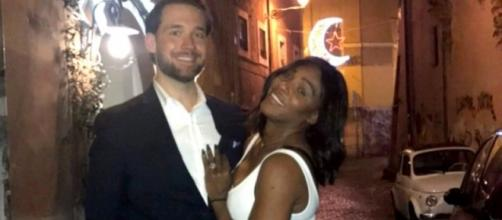 Serena Williams sporting massive engagement ring from Reddit co-founder - Photo: Reddit