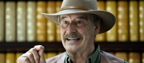 Vicente Fox takes to Twitter to again blast President-elect Donald Trump. - politico.com