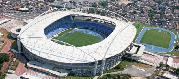 Com impossibilidade de Maracanã, Engenhão se torna, por enquanto, o principal estádio do futebol carioca (Foto: Fala Glorioso)
