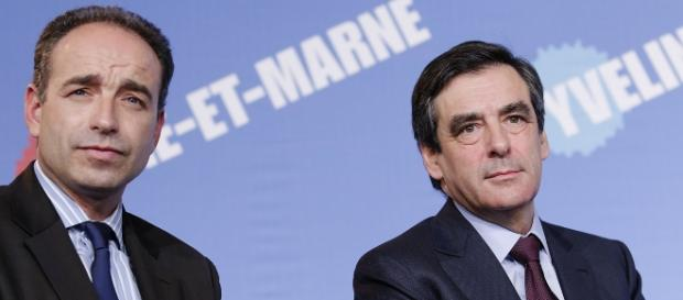 Francois Fillon et Francois Coppé UMP - CC BY